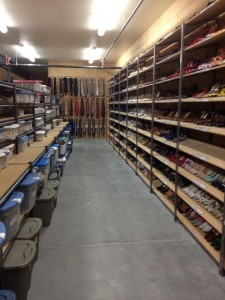 OSF Costume Rentals new warehouse shoes