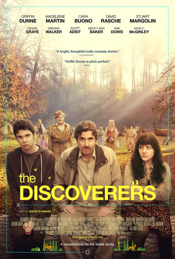 The Discoverers Poster (courtesy Quadratic Media)