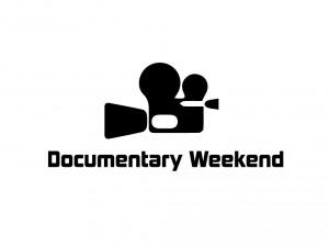 Documentary Weekend logo black on white.001