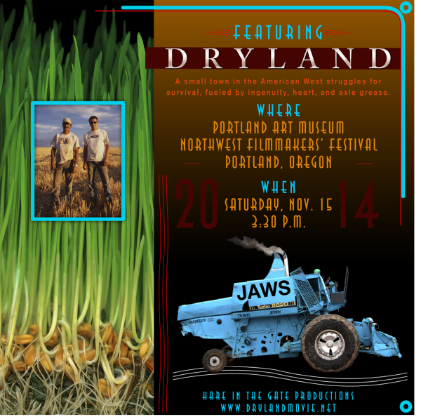 DRYLAND Save the Date card NWFF 2 mg
