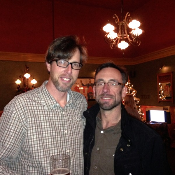 Tim Neville (NY Times), Kevin Max, (editor 1859 Magazine), at the Bend screening
