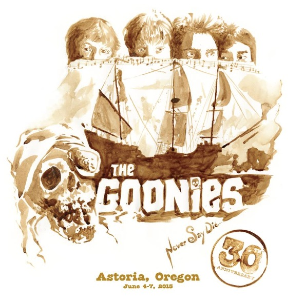 """The Goonies"" 30th Anniversary, Astoria"