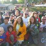Group of Fans at Farewell to Warren Field event - photographer Andy Petrou (Large)