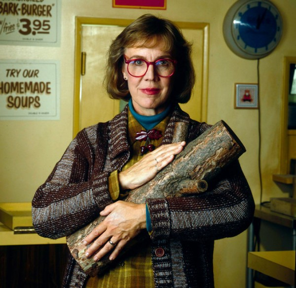 "Catherine Coulson played the Log Lady on the television series ""Twin Peaks."" Credit ABC Photo Archives, via Getty Images"