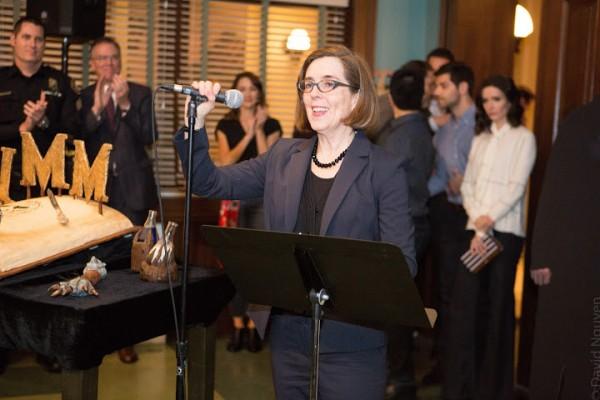 Governor Kate Brown (photo David Nguyen)