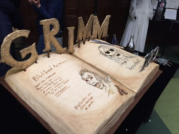 Grimm 100th cake by local oregonian, Michelle Honeman at Sugar Mommas Bake Shop http://sugarmommasbakeshop.com/