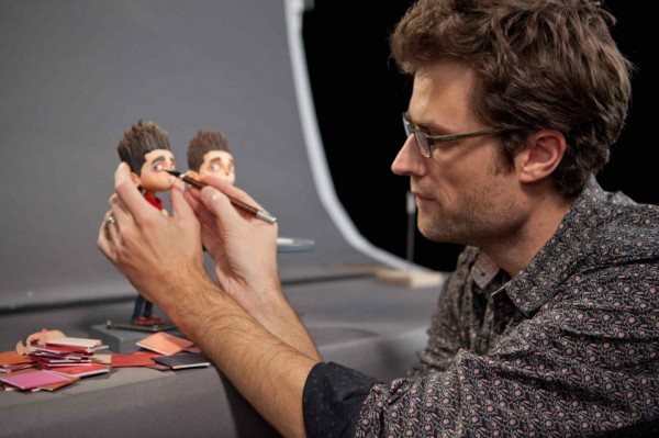 "Laika's Brian McLean won a special award from the Oscars for ""pioneering the use of rapid prototyping for character animation in stop-motion film production."" (Laika photo.)"