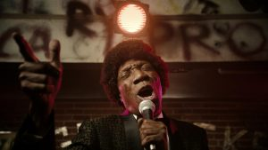 Otis Day, still rocking, in a 2015 send-up of the Animal House party, created by W+K for Nike