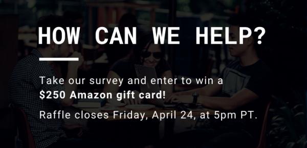 OMPA Community Survey: Win a $250 Amazon gift card!